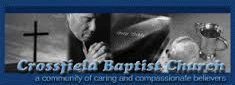 Crossfield Baptist Church Logo